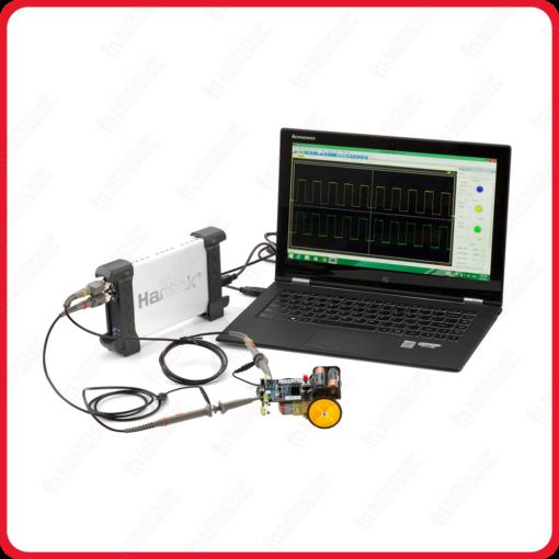 oscilloscope usb pc numérique hantek 20mhz