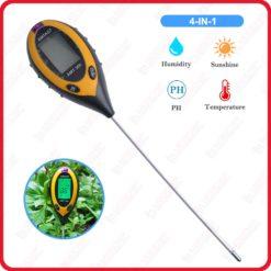 ph mètre du sol 4 EN 1 portable Électrode phmetre électronique meter