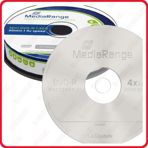 mini dvd mediarange x10