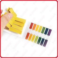 papier ph metre 80 Bandelletes Test PH Mètre Testeur Acidité de l'eau